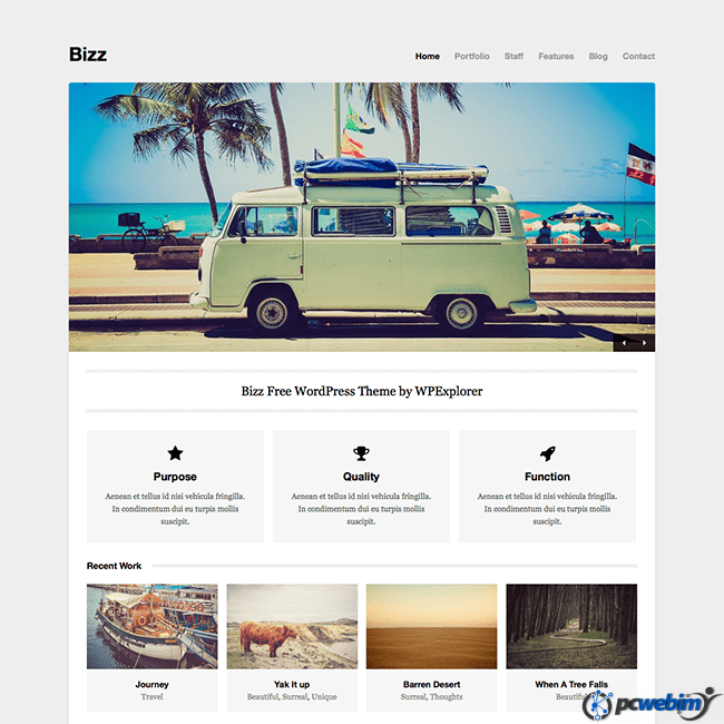 Free wordpress theme for video production company cara 2018 free wordpress theme for video production company 2018 07 wajeb Image collections