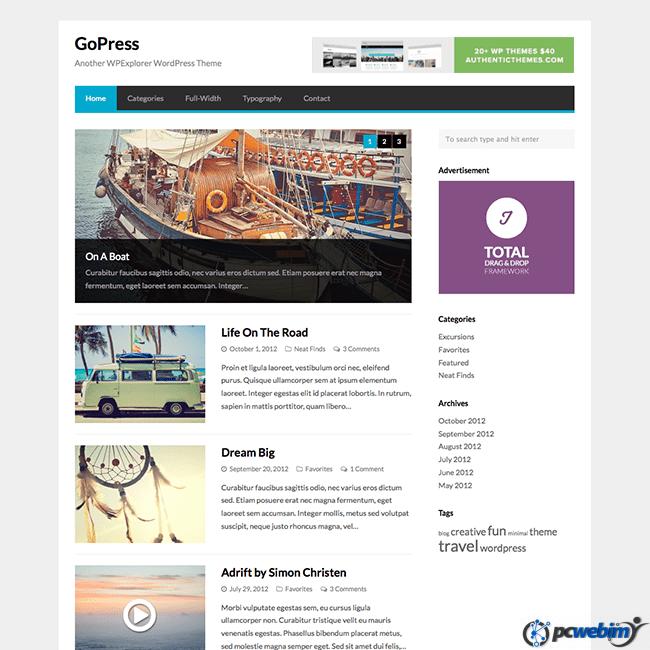 Konzept fullscreen portfolio wordpress theme free download bootstrap ...