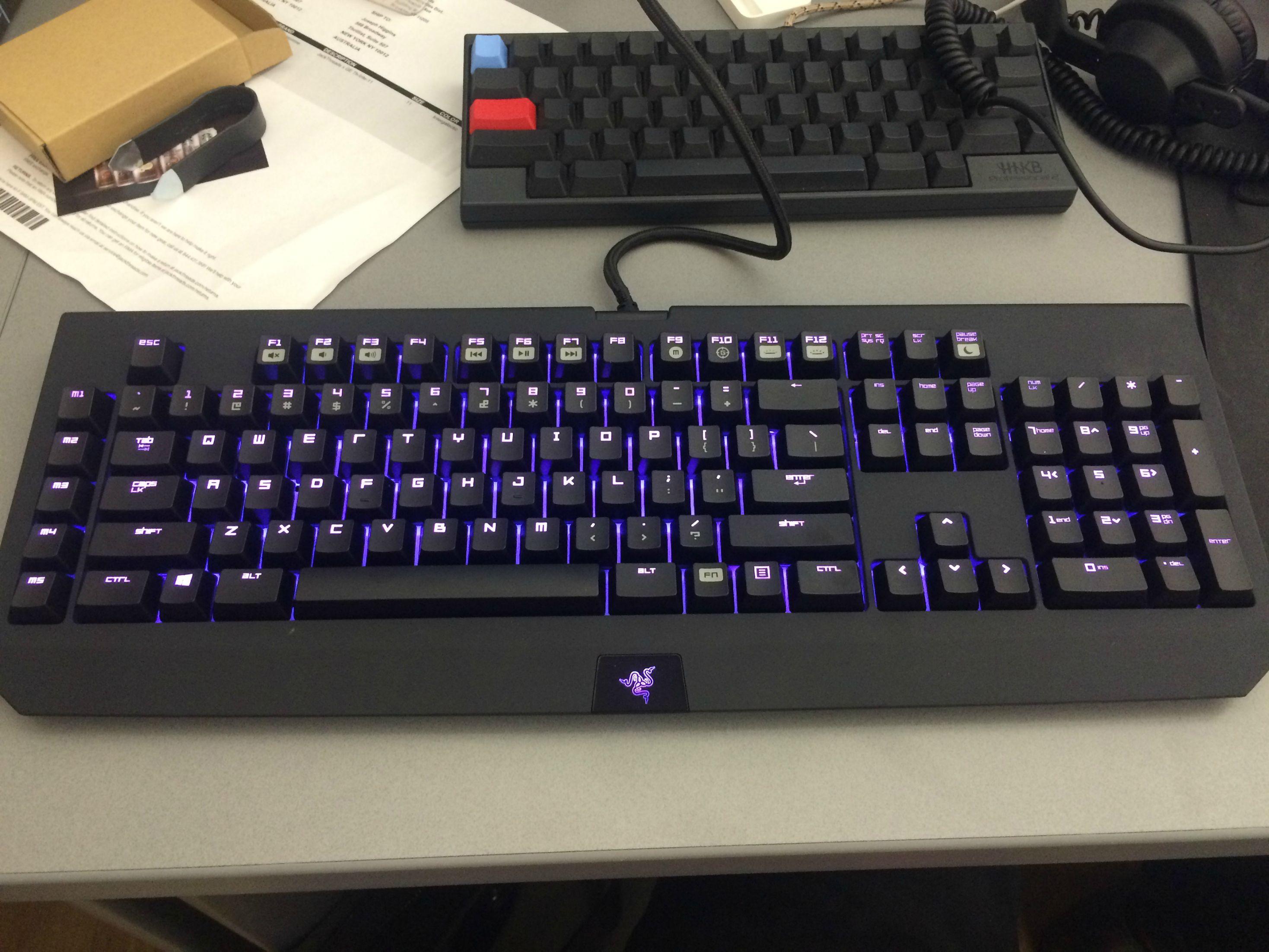 Razer Blackwıdow Chroma Klavye
