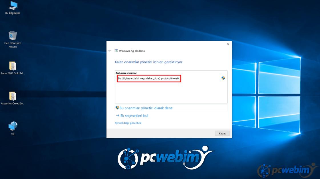 windows-10-ağ-sorunu