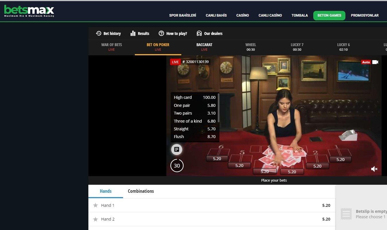 BetsMax TV Bet Giriş Yap